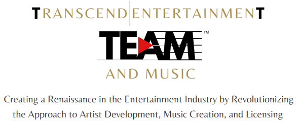 TRANSCEND ENTERTAINMENT AND MUSIC